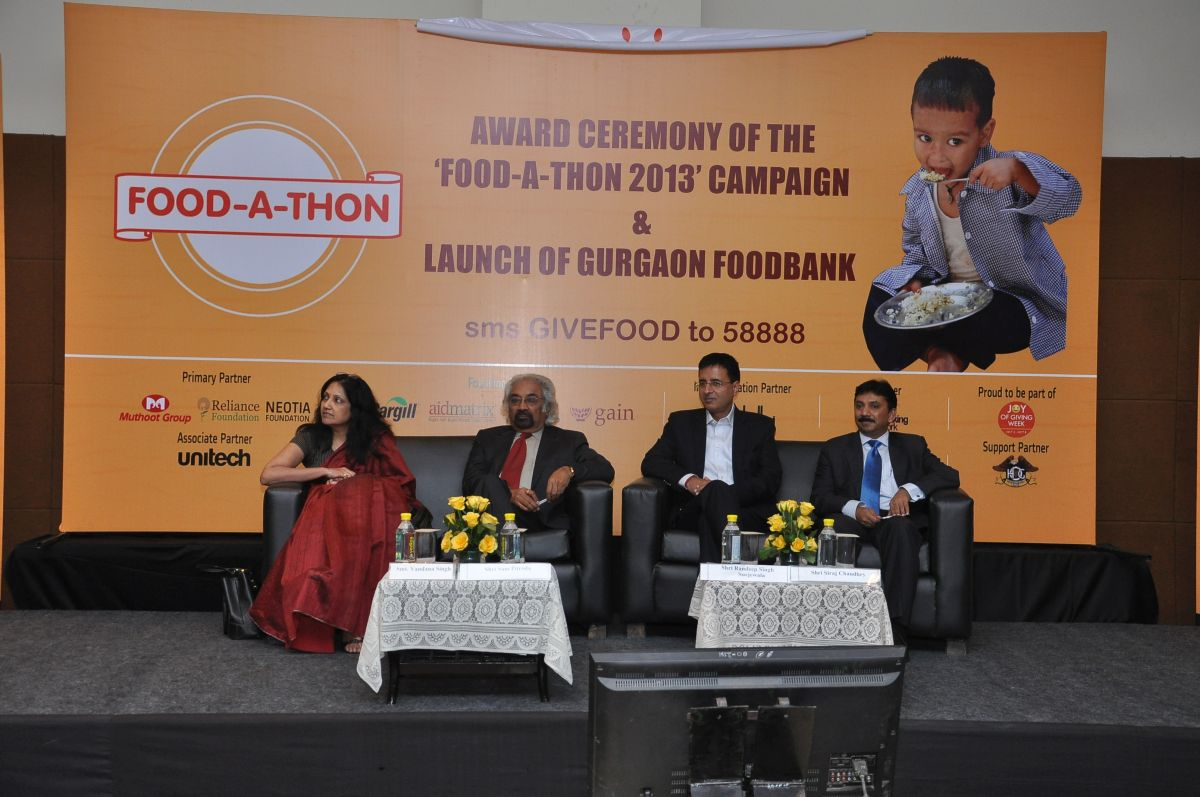 Gurgaon FoodBank Launch