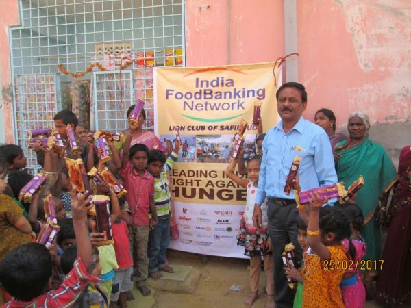 Food Distribution Drive, Fighting Hunger
